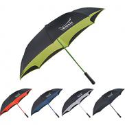 promotional 46 colorized manual inversion umbrella