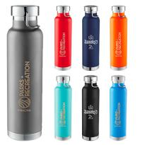 27838 - 22 oz. Thor Copper Insulated Bottle