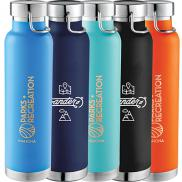 promotional 22 oz. thor copper insulated bottle