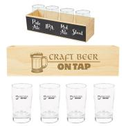 promotional chalkboard flight crate kit