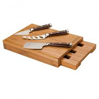 28006 - Bambu Bamboo Cheese Set