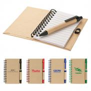 promotional baffin bay notebook & pen