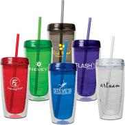 promotional 16 oz. cassanova hot / cold tumbler