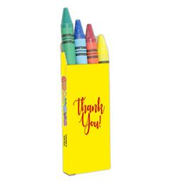 4 Pack of Crayons