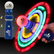promotional led galaxy spinner wand