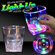 promotional 10 oz led rocks glass
