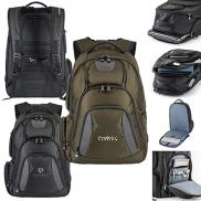 promotional basecamp concourse laptop backpack
