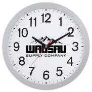 promotional 12 slim wall clock