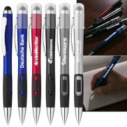 promotional luminous logo light pen