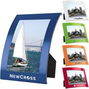promotional 4 x 6 curve photo frame
