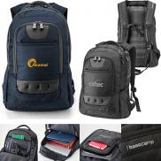 promotional basecamp navigator laptop backpack