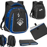 promotional oxford laptop backpack