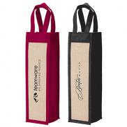promotional napa wine gift tote