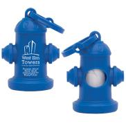 promotional fire hydrant pet waste bag dispenser
