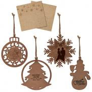 promotional wood ornament