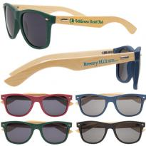 28590 - Wooden Bamboo Sunglasses