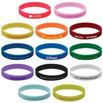 28581 - Quick Turn Pad Printed Wristbands