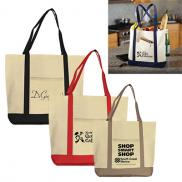 promotional canvas boat tote