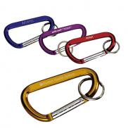 promotional carabiner with ring