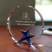 promotional circle star award