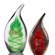 promotional dublin art glass award