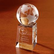 promotional explorer globe optically perfect award