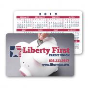 promotional plastic loyalty card