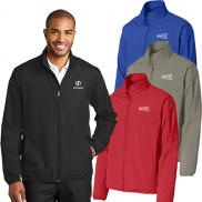 promotional port authority® zephyr full-zip jacket