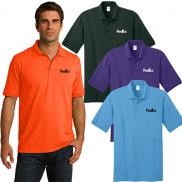 promotional port & company® core blend jersey knit polo (color)