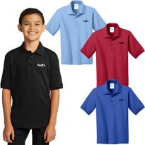 28963 - Port & Company® Youth Core Blend Jersey Knit Polo