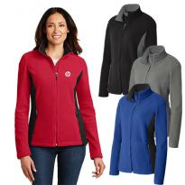 28965 - Port Authority® Ladies Colorblock Value Fleece Jacket