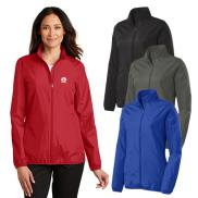 promotional port authority® ladies zephyr full-zip jacket
