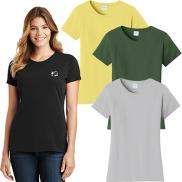 promotional port & company® ladies fan favorite™ tee (color)
