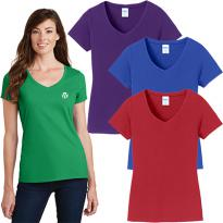 29002 - Port & Company® Ladies Fan Favorite™ V-Neck Tee
