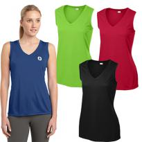 29012 - Sport-Tek® Ladies Sleeveless PosiCharge® Competitor™ V-Neck Tee