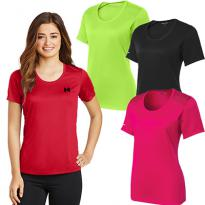 29015 - Sport-Tek® Ladies PosiCharge® Elevate Scoop Neck Tee