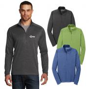 promotional ogio® pixel 1/4-zip sweater