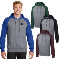 29076 - Sport-Tek® Raglan Colorblock Pullover Hooded Sweatshirt