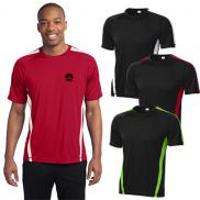 promotional sport-tek® colorblock posicharge® competitor™ tee
