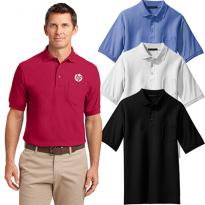 29106 - Port Authority® Tall Silk Touch™ Polo with Pocket