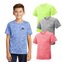 29123 - Sport-Tek® Youth PosiCharge® Electric Heather Tee