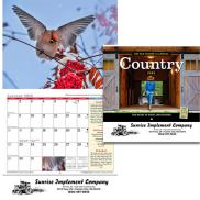 promotional the old farmers almanac country calendar - stapled