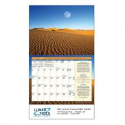 promotional the old farmers almanac moon - stapled