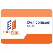 promotional phoenix standard name badge 3 x 2