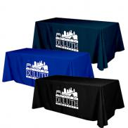 promotional flat 4-sided table cover (8 table)