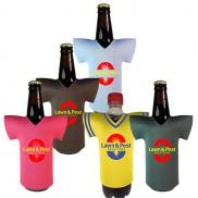 promotional jersey bottle coolie - full color