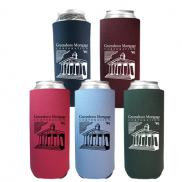 promotional 24 oz tall boy coolie