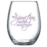 promotional 15 oz. stemless wine glass