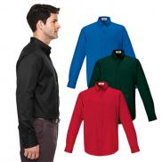 promotional core 365 mens long-sleeve twill shirt