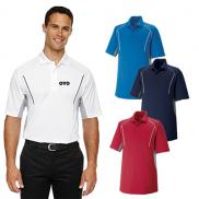 promotional extreme mens eperformance™ parallel  polo